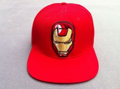 Cartoon style snapbacks Hats Reds