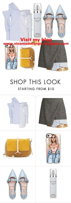 """""""New Fashion Blog !!"""" by mexie ❤ liked on Polyvore featuring Monse, Toga, Halston Heritage, Casetify, Miu Miu, Kenneth Cole and blog"""