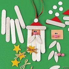 Manualidades navideñas con niños