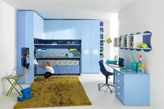 built in bunk bed design plans