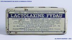 Lactolaxine Fydau - anni Venti / Trenta. Versione localizzata italiana.