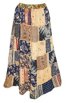 Mogul Interior Ladies Long Festive Skirt Vintage Patchwor... https://www.amazon.co.uk/dp/B01M0XRVSX/ref=cm_sw_r_pi_dp_x_Lbc9xb28SZDAK
