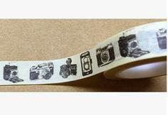Vintage fotocamera Washi Tape Giapponese Washi Tape di alicemolds