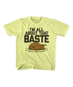 Festivi-tees Banana 'All About That Baste' Tee - Toddler & Kids by Festivi-tees #zulily #zulilyfinds