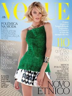 Candice Swanepoel for Vogue Brazil October 2011