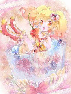 This is soo cute Miku Chibi, Anime Chibi, Beautiful Anime Girl, I Love Anime, Star Character, Character Design, Manga Art, Anime Art, Yume