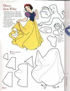 Princess patterns / patrones de princesas