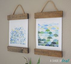 Happy Monday, hope you had a good weekend! I have a really fun blog hop and linky party to share with you; Its dedicated to DIY Wall Art. I love creating new art and these amazing ladies and I team…