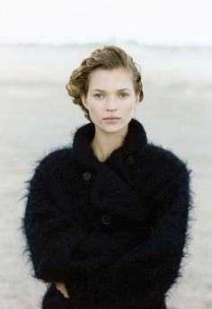 Kate Moss. the poetry of material things