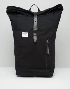 Sandqvist Dante Rolltop Backpack In Black