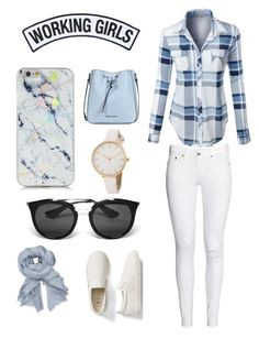 """""""Untitled #2"""" by meghag113 on Polyvore featuring LE3NO, Working Girls, Prada, John Lewis, Gap and Armani Jeans"""