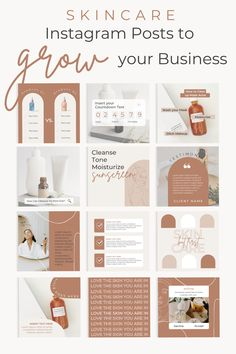 At Marketing Templates Co. we focus on providing social media content to grow your small business. We believe that you, as an esthetician, small business owner has enough on your plate and we can provide you with canva templates. We have small business marketing tools and business branding assets to grow your business. Including social media posts, Instagram posts specifically for skincare or the beauty industry #marketing #canvatemplates #instagramtemplate #instagramposts #skincare #esthetician Instagram Feed Planner, Feeds Instagram, 2 Instagram, Social Media Template, Social Media Design, Spas, Skincare Logo, Business Branding, Business Marketing