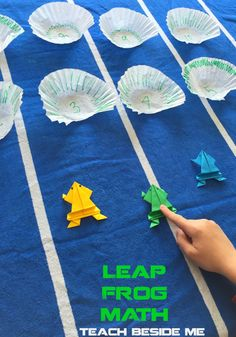 Ideas of different games - Leap Frog Math Game