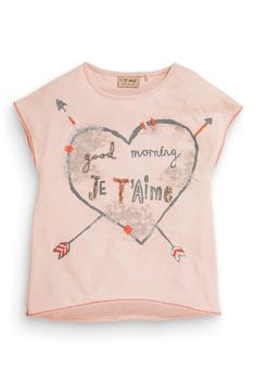Buy Pink Arrow Heart T-Shirt (3-16yrs) from the Next UK online shop