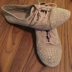 Bedazzled Oxfords