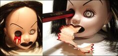 Living Dead Doll (Sadie) pencil sharpener........omg....what next!!!!!!    Lol