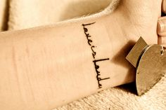 love is louder Tattoo