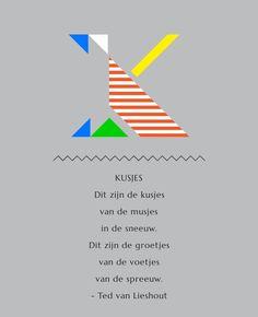 'Kusjes' uit 'Het rijmt' van'Ted van Lieshout Ted, Poems, Chart, Google, Poetry, A Poem, Verses, Poem