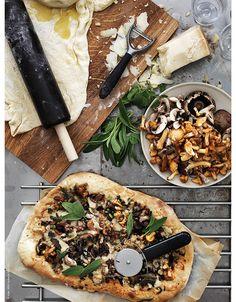 pizza + mushrooms | AMM blog