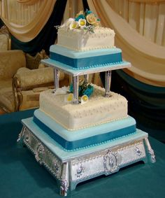 creative cake tables for weddings | summer wedding colour schemes mexican gothic wedding damask wedding ...