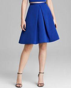 Tibi Skirt - Katia Faille Pleat  Bloomingdale's