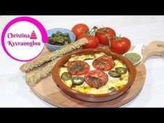 YouTube Feta, Greek Recipes, Baking Recipes, Camembert Cheese, Baked Food, Food And Drink, Cooking, Youtube, Greek Appetizers