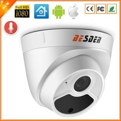 BESDER Full HD 1080P Security Camera Indoor Dome IP Camera Audio With Internal Microphone 48V PoE P2P ONVIF Email Motion Detect  Price: 640.35 & FREE Shipping #computers #shopping #electronics #home #garden #LED #mobiles #rc #security #toys #bargain #coolstuff |#headphones #bluetooth #gifts #xmas #happybirthday #fun Camera Prices, Ip Camera, Goods And Services, Security Camera, Hd 1080p, Audio, Free Shipping, Indoor, Interior