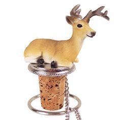 Deer Buck Bottle Stopper