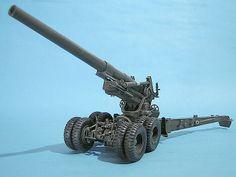M59 155mm artillery gun - Long Tom