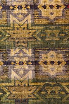 Dynastie Nasrid Tapisserie Soie  Grenade, Espagne   c. 8th-16th century