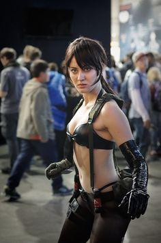 Metal Gear Solid: V Phantom Pain Quiet Cosplay