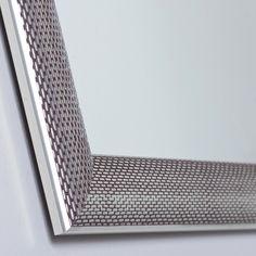 "23.6"" x 31.5"" - Decor Wonderland SSM65 Silvertone Distressed Framed Wall Mirror"