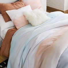 west elm's bedding includes duvets, sheet sets, pillows and more. Find chic bedding and bedding collections in a range of styles and colours. Chic Bedding, Linen Bedding, Bedding Sets, Contemporary Bed Linen, West Elm Bedding, Bed Linen Sets, Bedding Collections, Home Textile, Bed Spreads