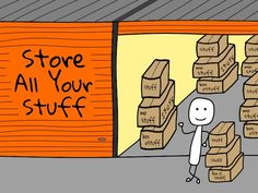 You may not want to sell all your stuff and decide on a storage rental unit for your stuff. Here are some things to keep in mind about a storage unit rental