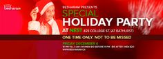 Besharam's Special Holiday Party! Holiday Parties, Events, Asian, Party, Parties