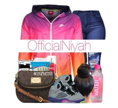 """""""S H E ' S  F I N E """" by officialniyah on Polyvore featuring NIKE and KEEP ME"""