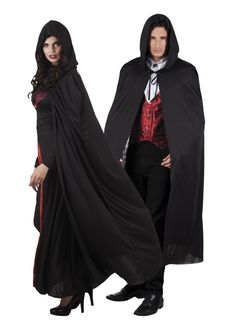 Hupullinen hämärän viitta Dracula, Harry Potter, Halloween, Outfits, Dresses, Products, Fashion, Black Cape, Black Colors