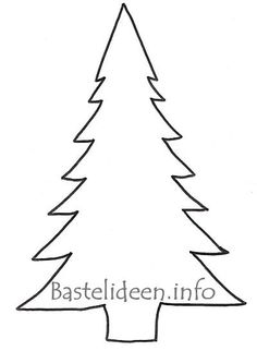 Pine Tree Outline | Clean Water Raingers: Trees… Our Gift ...