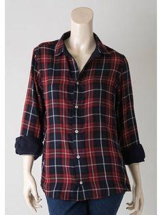 チェックリバーシブルシャツ(シャツ)|MOROKO BAR(モロコバー)|ファッション通販 - ファッションウォーカー