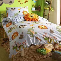 Blue 'Small But Loud' single bed set - Kids bedroom - Kids -