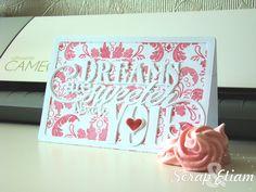 silhouette cameo valentine day cards | Le scrap de Maïté - Un peu de tout, beaucoup de scrap, mais surtout ...