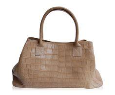 "Crocodile Handbag ""Cortina"" www.atelierdoutremer.com Crocodile Handbags, My Collection, Fashion, Moda, Fashion Styles, Fashion Illustrations"