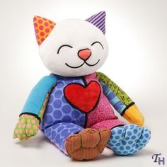 Britto Plush Coco Plush Kitty (Meduim) by ENESCO, http://www.amazon.co.uk/dp/B004TPUM6E/ref=cm_sw_r_pi_dp_7AY8qb0RFB6HF