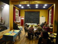 Musée suisse de la marionnette : Café Basketball Court, Restaurant, Bird Puppet, Switzerland, Restaurants, Dining Room