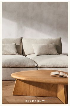 Sprawl out on the luxurious comfort of all natural linens and cottons. Get 10% off when you sign up. Home Living Room, Living Room Designs, Living Room Decor, Living Spaces, Bedroom Decor, Apartment Interior, Apartment Living, Interiores Design, Home Decor Inspiration