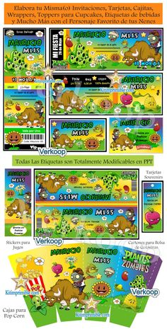 Plantas vs zombies imprimibles gratis zombi pinterest plants cranberry corner conors plants vs zombies party see more plvszski5 toneelgroepblik Image collections