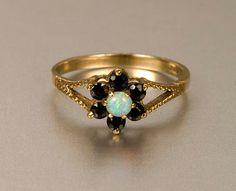 garnet & opal