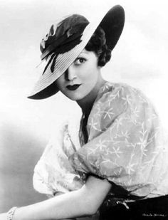 Vintage hat 1930's the age of glamour source pics2fly