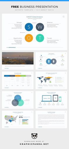 Free Business Keynote Template