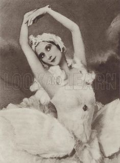 Pavlova in The Dying Swan. Illustration for Anna Pavlova by V Andre (Cassell, Ana Pavlova, Vintage Ballet, Russian Culture, History Images, Nature Journal, Ballet Costumes, Old Hollywood Glamour, Silent Film, Dance Photography